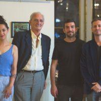 De iz. a der. Ana Lucía Amor, Roberto Bernardis, Néstor Bravo y Fernando Madedo