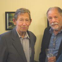 Los historiadores del cine argentino Andrés Insaurralde y Daniel Paraná Sendrós